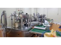 액상을 자동포장하는 로타리포장기계